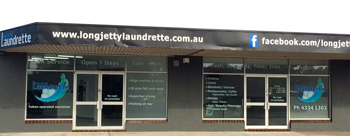 Long Jetty Laundrette Location